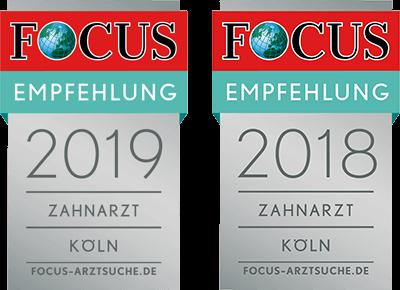 FOCUS Empfehlung Zahnarzt 2018
